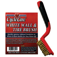 Cycle Care Whitewall Tire Brush
