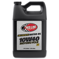 Red Line Synthetic 10w/40 Motorcycle Oil