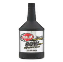 Red Line 80W Gear Oil - 1 Quart Bottle
