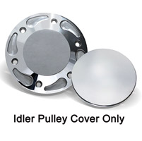 Barnett Performance Products Polished Billet Idler Pulley Cover