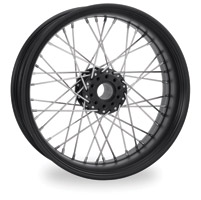 Performance Machine Merc Wire Black Ops Rear Wheel, 18