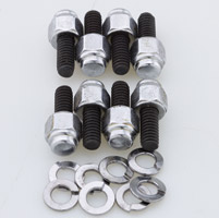 Colony Chrome Cap Style Primary Cover Screw Kit