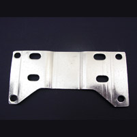 Custom Chrome Polished 1″ Offset Transmission Plate
