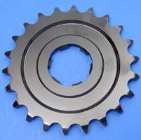 J&P Cycles® 24 Tooth Heavy-Duty Transmission Sprocket