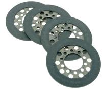 Big Twin Clutch Set of Lined Clutch Discs