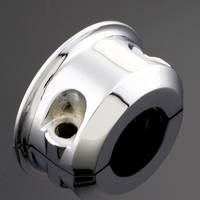 J&P Cycles® Clutch/Brake Handlebar Clamop Half