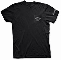 Jack Daniel's Black Short-Sleeve Pocket T-shirt