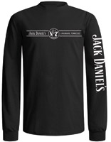 Jack Daniel's Black Long-sleeve Lynchburg Shirt