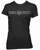 Jack Daniel's Black Short-Sleeve Lynchburg T-Shirt