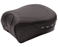 Mustang Black Studded Recessed Passenger Seat