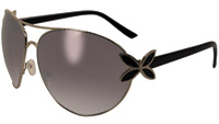 Global Vision Eyewear Butterfly 1 Black Framed Sunglasses