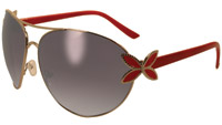 Global Vision Eyewear Butterfly 1 Red Framed Sunglasses