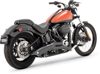 Vance & Hines Big Radius 2-into-1 Black Exhaust System