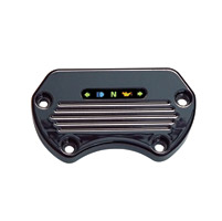 Yankee Engineuity Tach & Speedo Black Stock-Style Mount with LED Light Bar & Harness