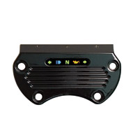 Yankee Engineuity Tach and Speedo Black Mount with LED Light Bar & Harness