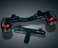 Kuryakyn Bullet Light Rear Turn Signal Gloss Black Kit