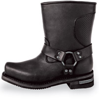 Milwaukee Motorcycle Clothing Co. Men's Black T-Bone Riding Boots