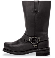 Milwaukee Motorcycle Clothing Co. Men's Weston Classic Harness Riding Boots