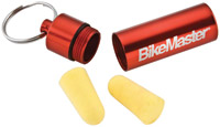 BikeMaster Soundmaster Ear PLugs with Carrier