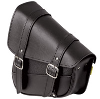 Willie & Max Black Swingarm Bag
