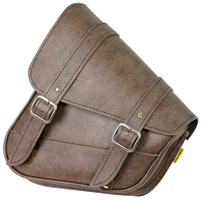 Willie & Max Vintage Brown Swing Arm Bag