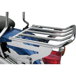Motherwell 2-Up Detachable Chrome Luggage Rack