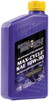 Royal Purple Max Cycle Synthetic 10W30 Motor Oil