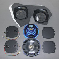 J&M Rokker XT Series 7-1/4″ Speaker Kit