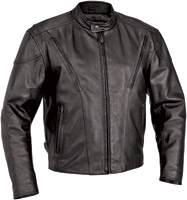 River Road Men's Leather Race Vented Jackets