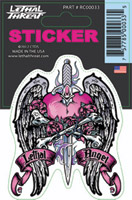 Lethal Threat Lethal Angel Dagger Decal