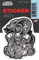 Lethal Threat Snake Engine Decal