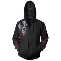 Lethal Threat Angel Girl Skull Hoodie