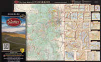 Butler Maps Colorado Motorcycle Map