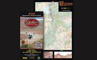 Butler Maps Utah Backcountry Dual-Sport Motorcycle Map