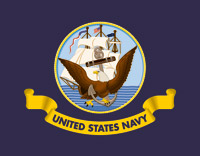 Pro Pad Navy Flag