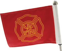 Pro Pad Firefighter Flag