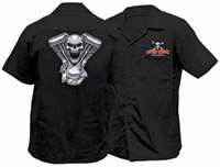 Lethal Threat Evil Twin Workshirt