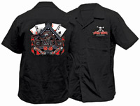 Lethal Threat Let It Ride Workshirt