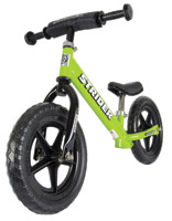 Strider Green ST-3 Balance Bike