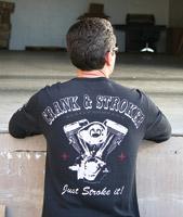Crank & Stroker Supply All Motor Black Long-Sleeve Thermal