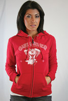 Crank & Stroker Supply Women's All Motor Fleece Hoodie