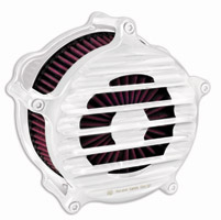 Roland Sands Design Chrome Venturi Nostalgia Air Cleaner