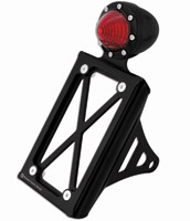 Roland Sands Design Black Ops Tracker Taillight with License Plate Holder