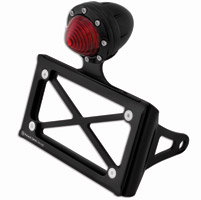 Roland Sands Design Horizontal Black Ops Taillight with License Plate Holder