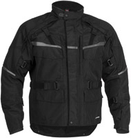Firstgear Men's Black Jaunt Textile Jacket