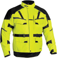 Firstgear Men's DayGlo Jaunt Textile Jacket