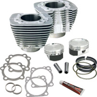 S&S Cycle Silver Cylinder and Piston Conversion Kit