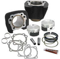 S&S Cycle Black Cylinder and Piston Conversion Kit