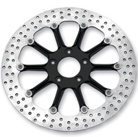 Performance Machine Hooligan Black Two-Piece 11.8″ Front Brake Rotor