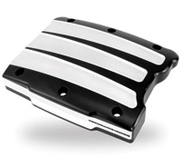 Performance Machine Scallop Contrast Cut Rocker Cover for Twin Cam